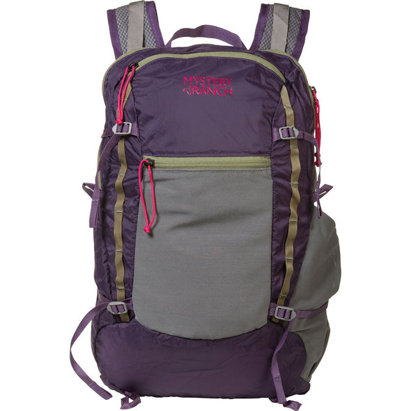 Mystery Ranch In and Out Day Pack (Eggplant) Front View