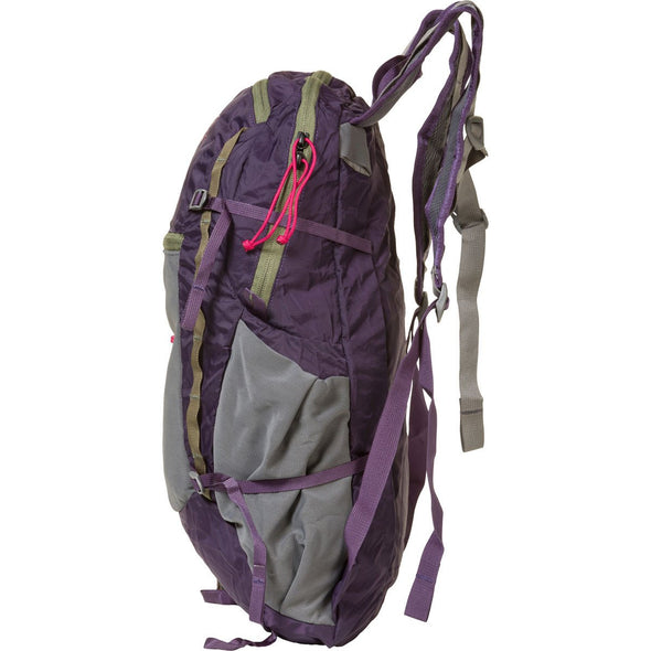 Mystery Ranch In and Out Day Pack (Eggplant) Side View