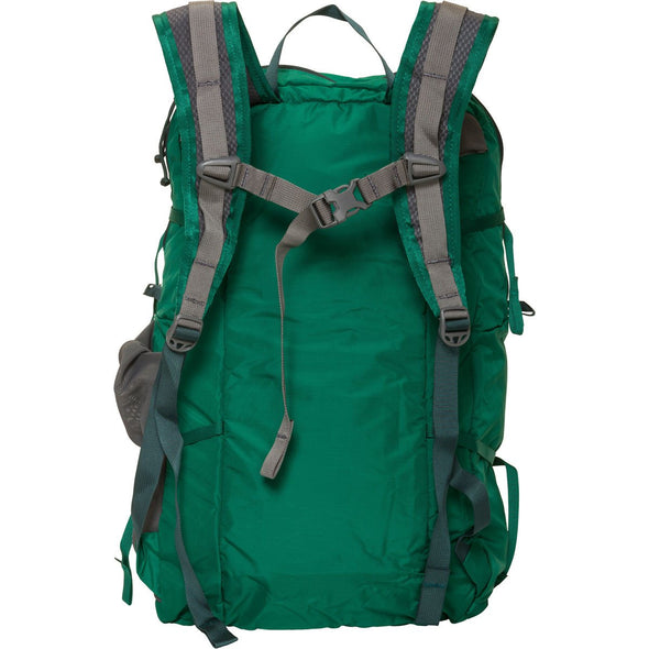 Mystery Ranch In and Out Day Pack (Grass Green) Rear View