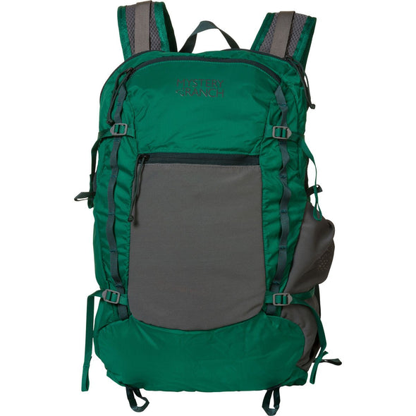 Mystery Ranch In and Out Day Pack (Grass Green) Front View
