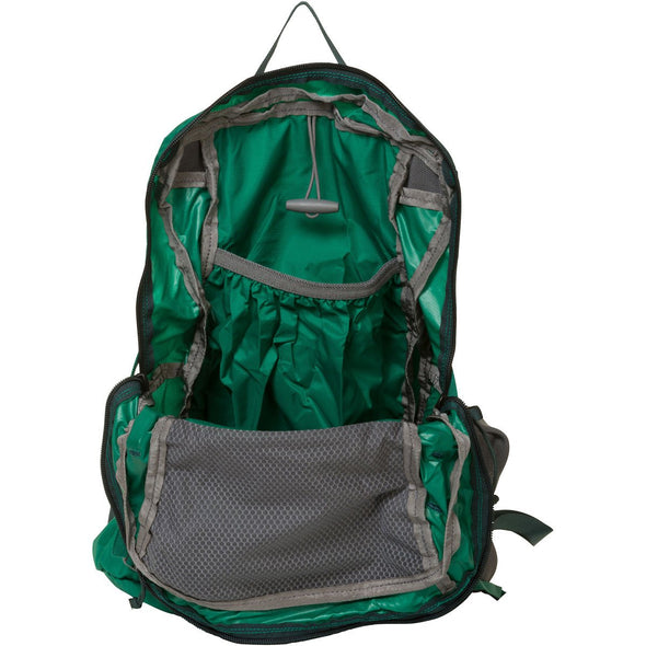Mystery Ranch In and Out Day Pack (Grass Green) Open