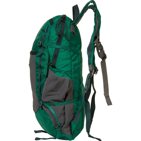 Mystery Ranch In and Out Day Pack (Grass Green) Side VIew
