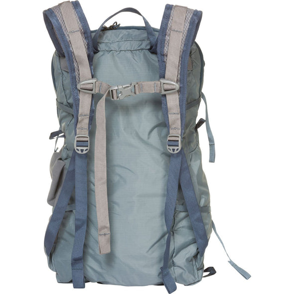 Mystery Ranch In and Out Lightweight Day Pack (Storm) Rear View