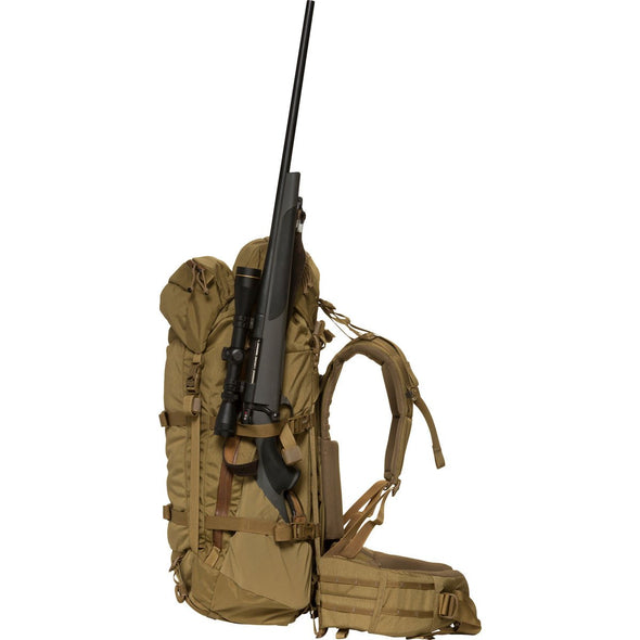 Mystery Ranch Metcalf Backpack (Coyote) with Rifle