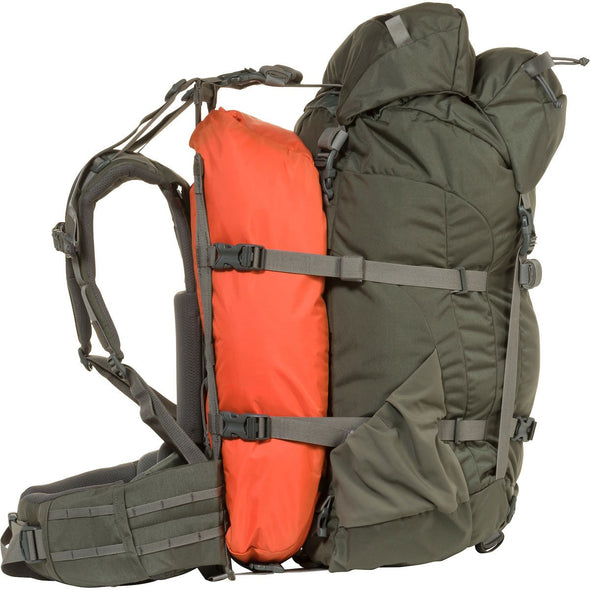 Mystery Ranch Metcalf Backpack (Foliage) showing Overload Feature