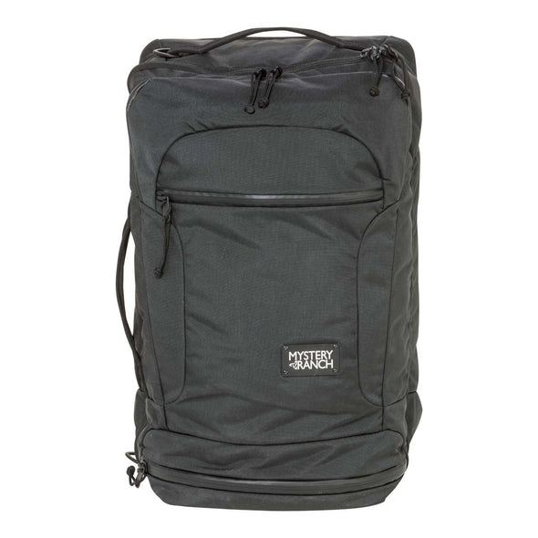 Mystery Ranch Mission Rover Carry On Travel Bag (Black) Front View