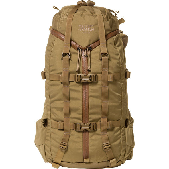 Mystery Ranch Pintler Overnight Backpack (Coyote) Front View