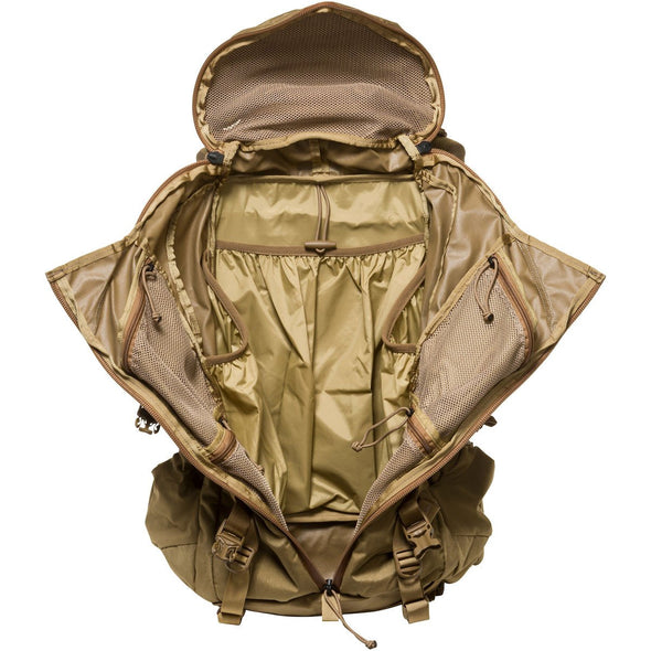 Mystery Ranch Pintler Overnight Backpack (Coyote) Interior