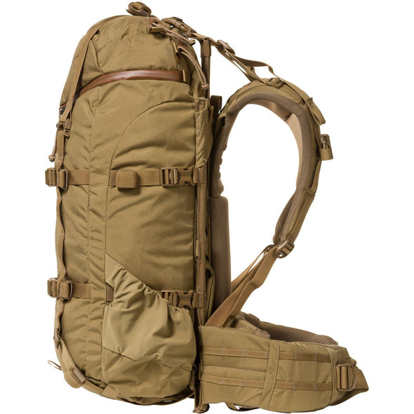 Mystery Ranch Pintler Overnight Backpack (Coyote) Side View