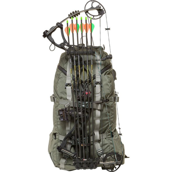 Mystery Ranch Pintler Overnight Backpack (Foliage) with Hunting Bow