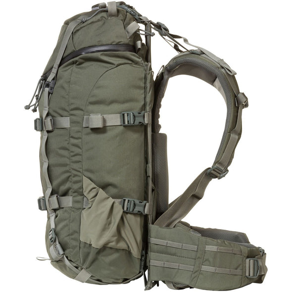 Mystery Ranch Pintler Overnight Backpack (Foliage) Side View