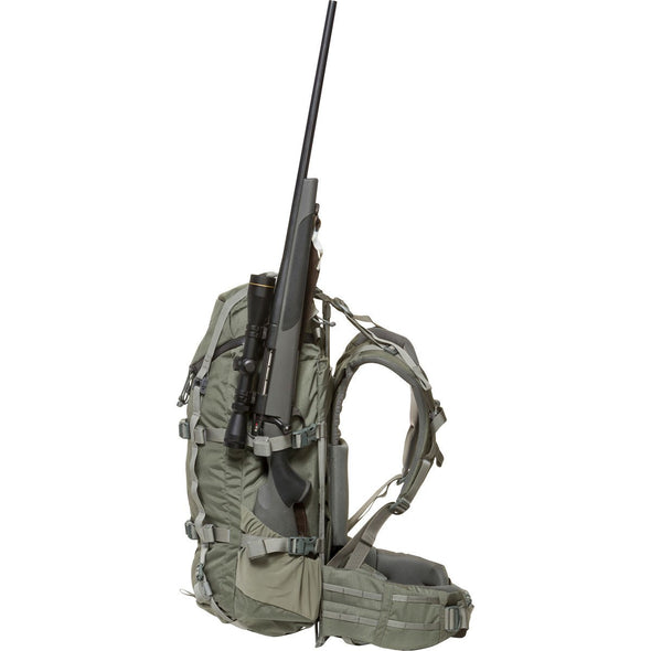 Mystery Ranch Pintler Overnight Backpack (Foliage) with Hunting Rifle
