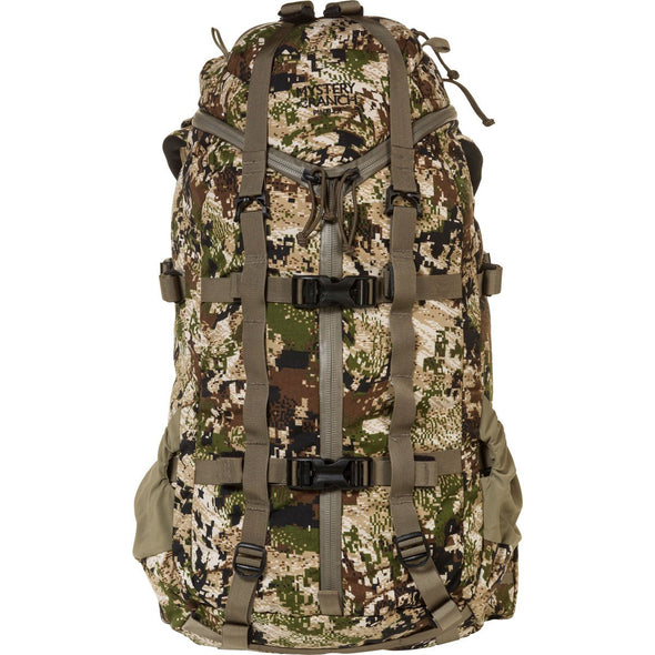 Mystery Ranch Pintler Overnight Backpack (Optifade Subalpine DPM Camo) Rear View