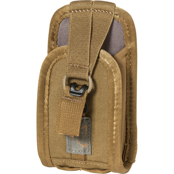 Mystery Ranch Quick Draw GPS Holster (Coyote) Backpack Accessory – Front