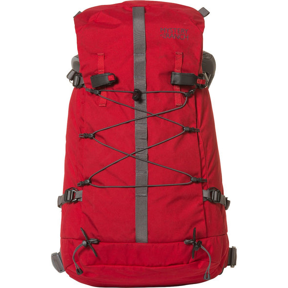 Mystery Ranch Scepter 35 Alpine Day Pack (Cherry) Front View