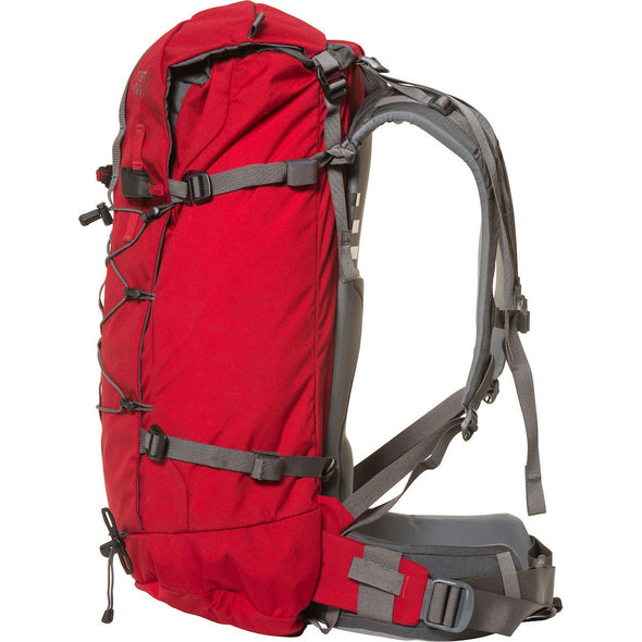 Mystery Ranch Scepter 35 Alpine Day Pack (Cherry) Side View