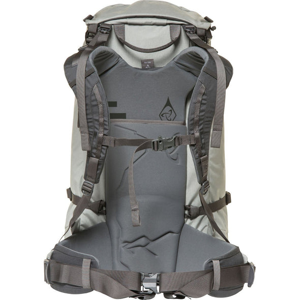 Mystery Ranch Scepter 35 Alpine Day Pack (Mist) Rear View of Harness