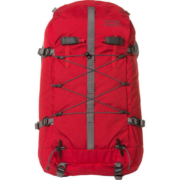 Mystery Ranch Scepter 50 Alpine Backpack (Cherry) Front View