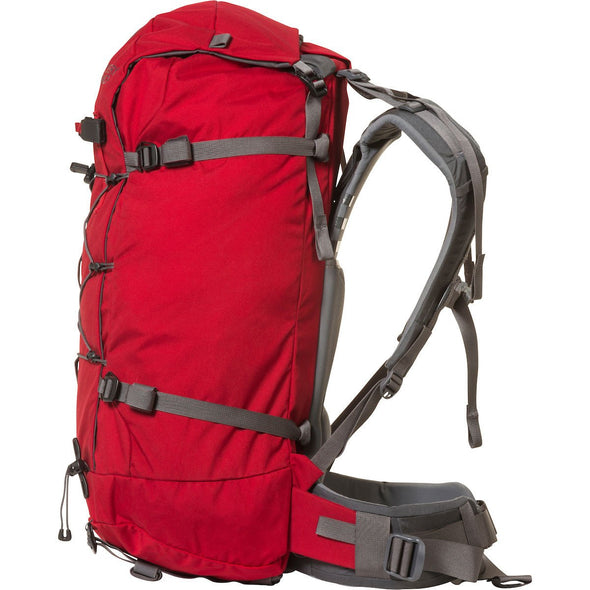 Mystery Ranch Scepter 50 Alpine Backpack (Cherry) Side View