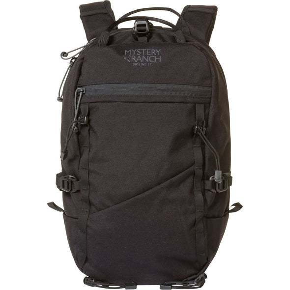 Mystery Ranch Skyline 17 Rock Climbing Day Pack (Black) Front View