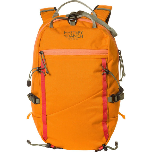 Mystery Ranch Skyline 17 Rock Climbing Day Pack (Tiger Orange) Front View