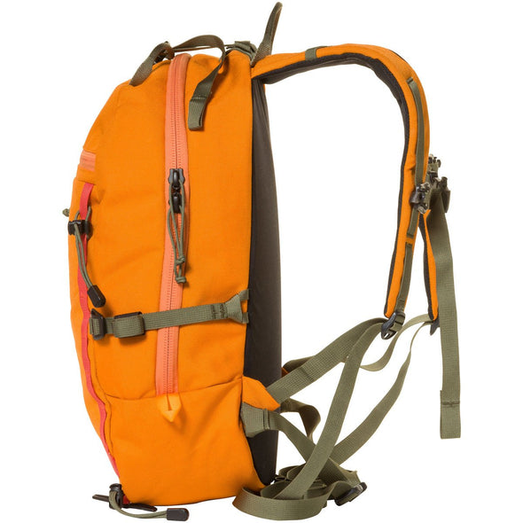 Mystery Ranch Skyline 17 Rock Climbing Day Pack (Tiger Orange) Side View