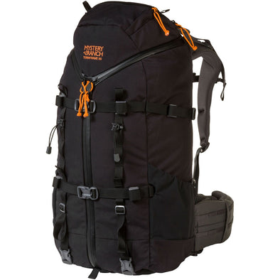 Mystery Ranch Terraframe 3-Zip 50 External Framed Mountaineering Backpack (Black)