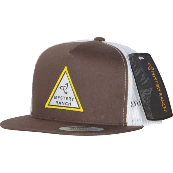 Mystery Ranch Triangle Trucker Cap (Brown)