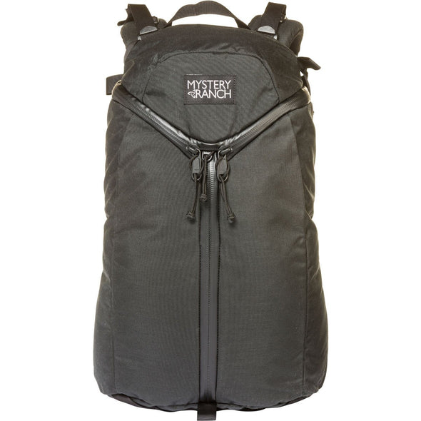 Mystery Ranch Urban Assault 21 Multi-Purpose Day Pack (Black) Front View