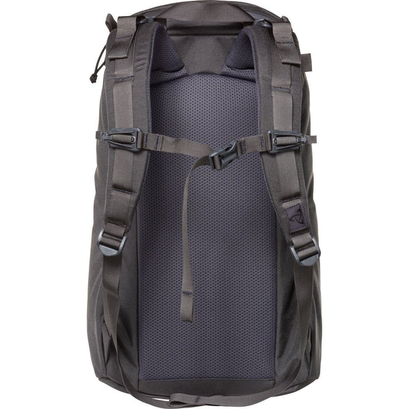 Mystery Ranch Urban Assault 21 Multi-Purpose Day Pack (Shadow 100D) Rear View