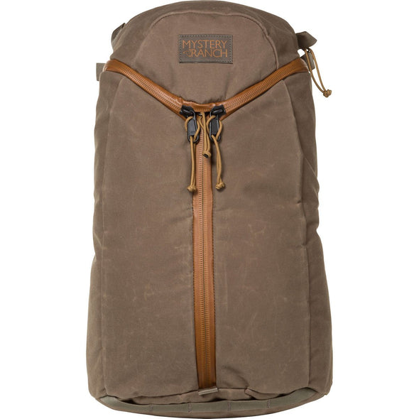 Mystery Ranch Urban Assault 21 Multi-Purpose Day Pack (Wood Waxed) Front View