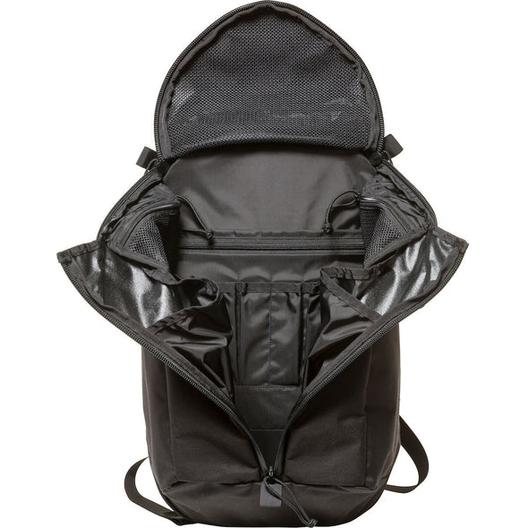 Mystery Ranch Urban Assault 24 Everyday Backpack (Black) Open