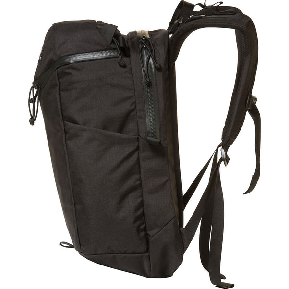 Mystery Ranch Urban Assault 24 Everyday Backpack (Black) Side View