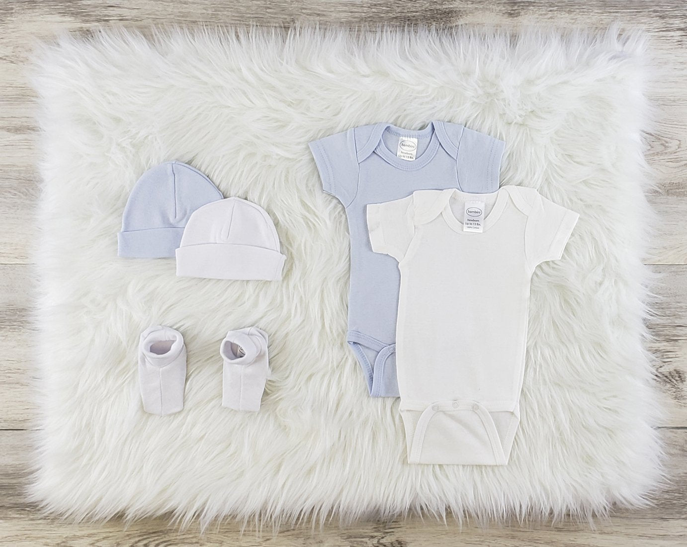 Bambini 5 Pc Layette Baby Clothes Set - Baby World Inc