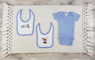 Bambini 3 Pc Layette Baby Clothes Set - Baby World Inc