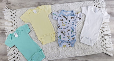 Bambini 4 Pc Layette Baby Clothes Set - Baby World Inc