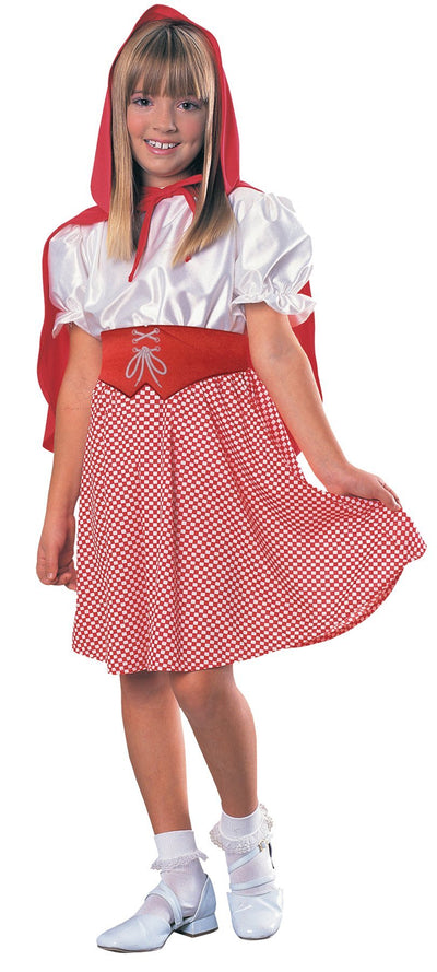 Red Riding Hood Child Costume Sm - Baby World Inc