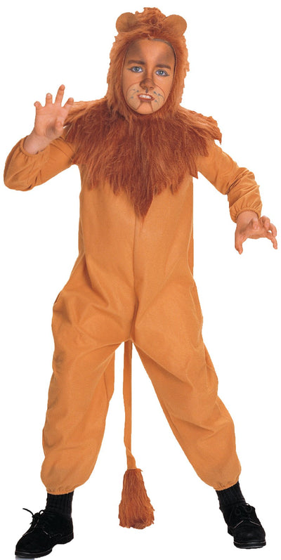 Wizard Of Oz Cowardly Lion Boys Costume Lg - Baby World Inc