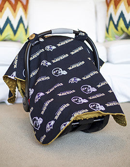 Baltimore Ravens Canopy - Baby World Inc