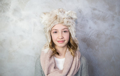 Snow Leopard Hat - Baby World Inc