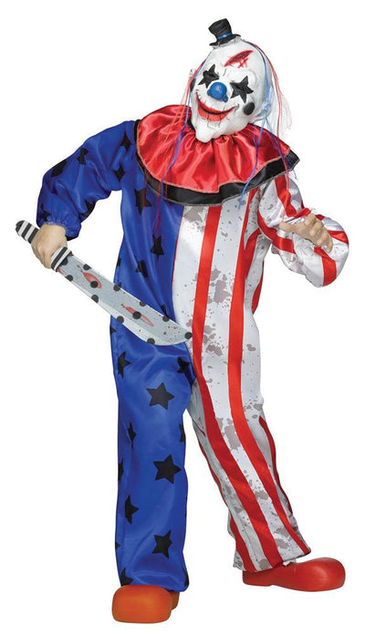 Clown Mens Costume Md - Baby World Inc