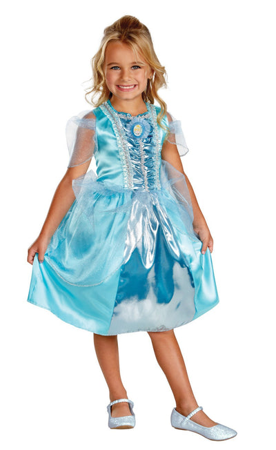 Cinderella Sparkle Toddler Costume Classic 3T-4T - Baby World Inc