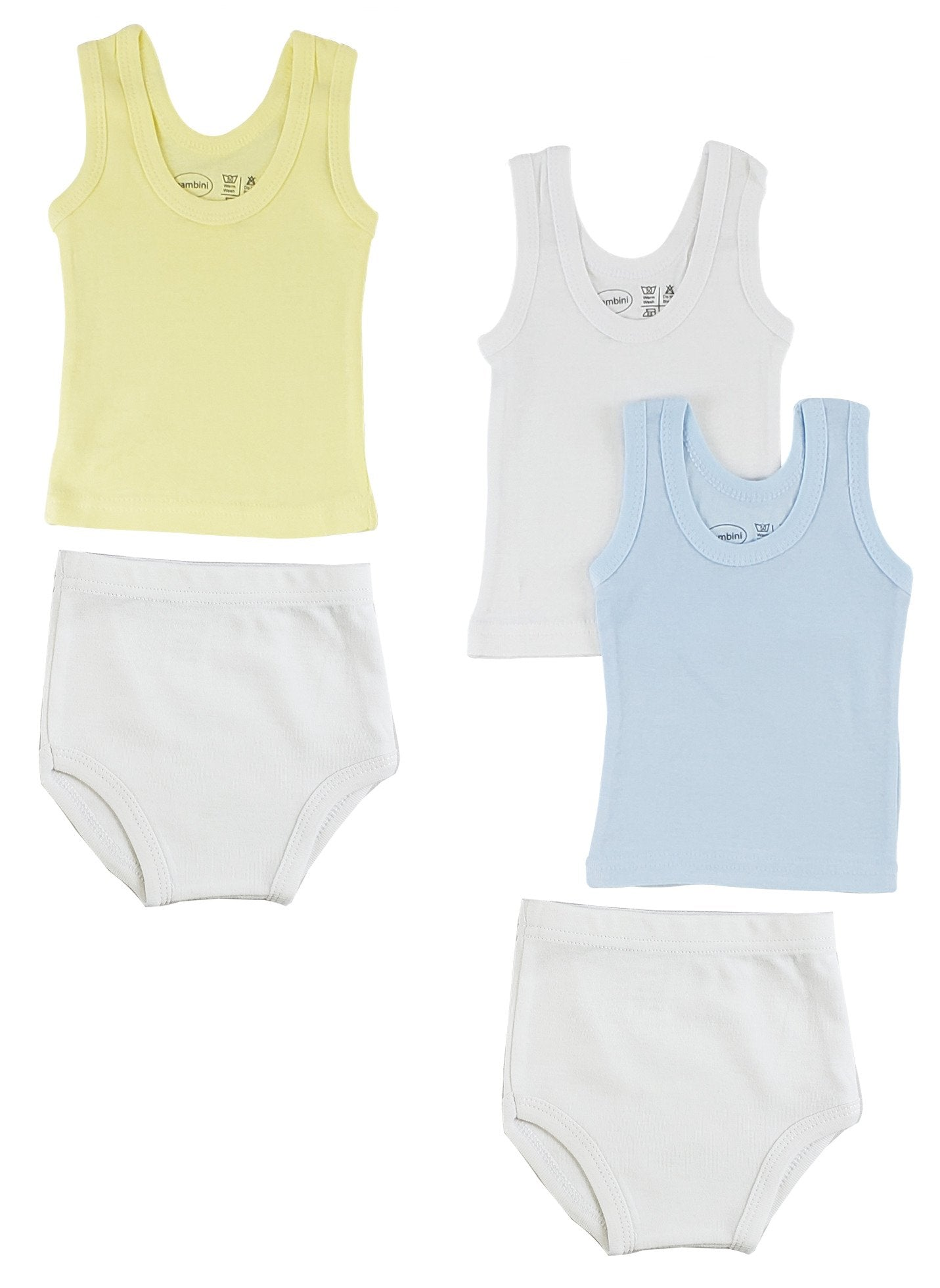 Boys Tank Tops and Training Pants - Baby World Inc