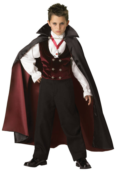 Gothic Vampire Boys Costume Size 6 - Baby World Inc
