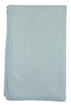 Bambini Blue Receiving Blanket - Baby World Inc