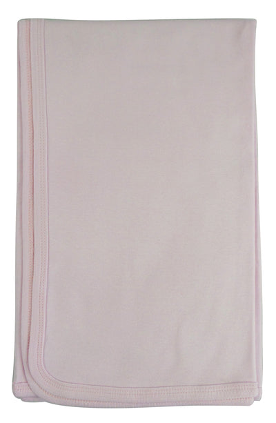 Bambini Pink Receiving Blanket - Baby World Inc