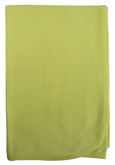 Bambini Yellow Receiving Blanket - Baby World Inc