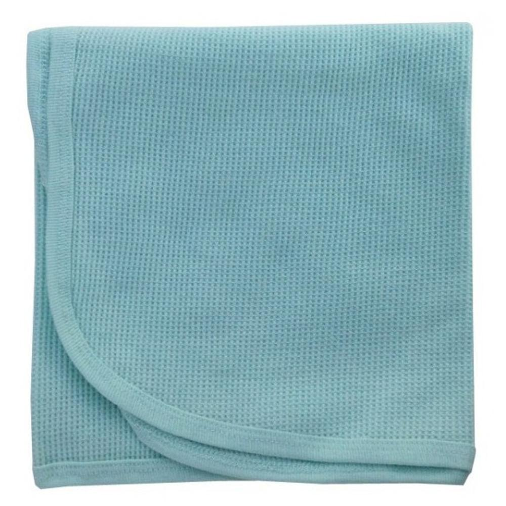 Bambini Mint Thermal Receiving Blanket - Baby World Inc