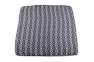 Morrocan Blue And Traveler Dot Newcastle Blanket - Baby World Inc