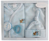 Bambini 4 Piece Fleece Set - Blue - Baby World Inc